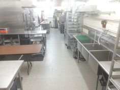 Workstation in Commissary Kitchen with 24/7 access