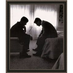 John F. Kennedy and Robert F. Kennedy by Hank Walker. I remember the assassinations - John Kennedy when I was in 3rd grade, and Bobby when I was in 7th. The news came that Bobby died in my English class at Central Jr. High.