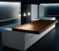 From Interior Design. VERVE Kitchen Sliding Top - very cool.