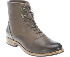 Jayne Mid Boot, Dark Taupe Leather