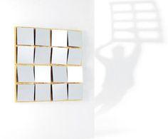 Moderner Wandspiegel PEOPLE by Marco Bertolini OPINION CIATTI
