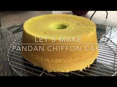 A tried and tested pandan chiffon cake recipe developed over several months of experimentation. This detailed recipe has everything you ever need to know!