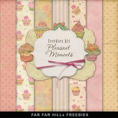 Freebies Backgrounds - Pleasant Moments (Far Far Hill)