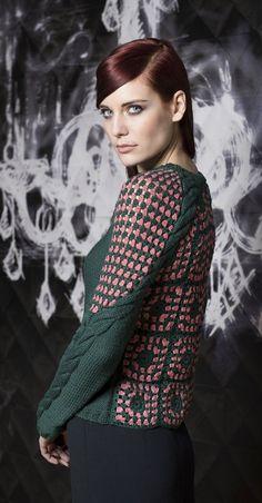 Knitwear designer Laura Theiss