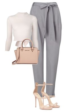 """""""Untitled #1649"""" by gracerosborough ❤ liked on Polyvore featuring Phase Eight, Alexander McQueen and Michael Kors"""