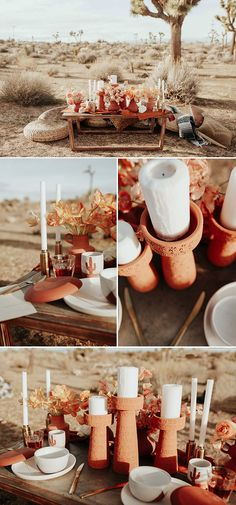 This Joshua Tree wedding has the most perfect boho glam details that will have you swooning! Karra Leigh Photo captured the wedding inspiration. Trendy Wedding, Boho Wedding, Wedding Flowers, Wedding Shit, Wedding Stuff, Joshua Tree Wedding, Summer Wedding Colors, Wedding Table Settings, Wedding Planning Tips