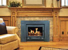 cast iron fireplace inserts wood burning with blower | 577IU Cast-iron Wood-burning Fireplace Insert