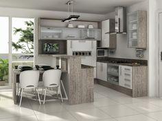 Cozinhas planejadas são tudo de bom. Aproveitamos todo o espaço e a arrumação fica bem mais prática.   Vamos a seleção de dicas que pegue...