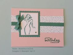 Helen Wadelton:In2ink: Beautiful You - Happy Birthday Gorgeous Girl 1.#Beautiful You