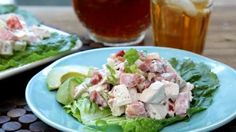 Chicken Salad with Bacon, Lettuce, and Tomato Video