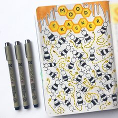 Dozens of Gorgeous Mood Trackers That Will Make Your Soul Smile Bullet Journal 2018, Bullet Journal How To Start A, Bullet Journals, Arc Planner, Passion Planner, Happy Planner, Organization Bullet Journal, Calligraphy For Beginners, Plum Paper Planner