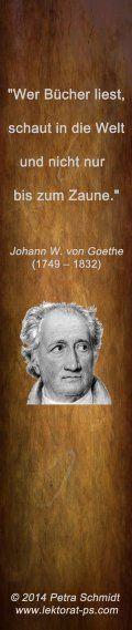 Lesezeichen Zitat Goethe  (weitere kreative Lesezeichen als Giveaway zur Leipziger Buchmesse am Lektorenstand in Halle 5, D 403) http://www.lektorat-ps.com/Lektorenstand-Buchmesse