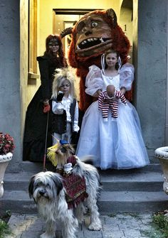 """Cast of """"Labyrinth"""" cosplay"""