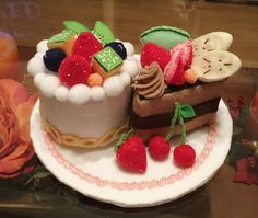 felt cake フェルトケーキ
