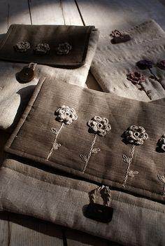crochet - laptop sleeve