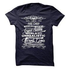 I Am A Fire Chief T Shirts, Hoodies Sweatshirts. Check price ==► http://store.customtshirts.xyz/go.php?u=https://www.sunfrog.com/LifeStyle/I-Am-A-Fire-Chief-51811055-Guys.html?41382