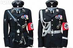 Uniforme de oficiales de las SS  http://www.taringa.net/posts/info/19702107/Uniforme-y-equipo-de-combate-Sovietico-de-la-2-Guerr.html