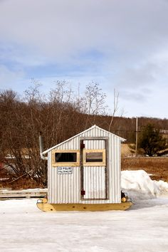 Wicked Ice Fishing Shack Reellife