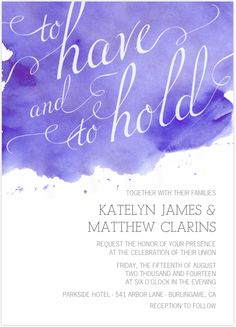 Watercolor Flower Wedding Invitations | Introducing the Newest Wedding Invitations from Mixbook!