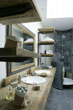 ESTILO INDUSTRIAL EN EL BAÑO / Industrial style in the bathroom | OASISINGULAR