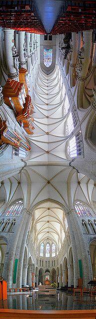 Collegiale Saint Michel et Gudule, Brussels Belgium |