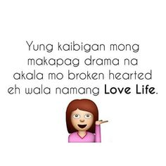 #quotes Tagalog Quotes Patama, Pinoy Quotes, Filipino Humor, Love Quotes Facebook, Hugot Lines, Life Rules, Eccentric, What Is Life About, Haha Funny
