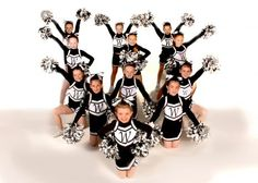 Great group shot idea with or without poms.