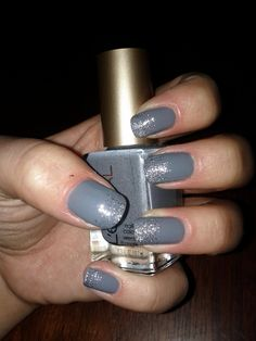 Grey glitter, This is sooo me