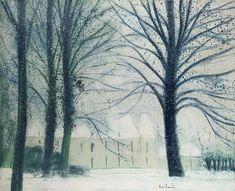 Loupeigne under the Snow, 1980, Andre Brasilier