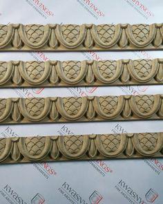 Wood crown moldings. #wood #crown #moldings #cornice #millwork #ceiling