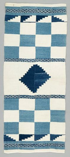 Africa | Blanket from the Sherbro people of Sierra Leone | Cotton | 20th century