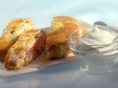 Get this all-star, easy-to-follow Salmon Wellington recipe from Party Line with the Hearty Boys