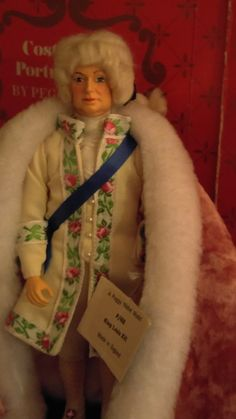 From MY Personal Peggy Nisbet Doll Collection - KING LOUIS XVI - husband of French Queen Marie Antoinette
