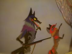美术片《老狼请客》