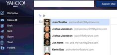 Nuevas mejoras para enviar un correo y contactos en Yahoo | Iniciar sesion correo - Yahoo! Mail ayuda