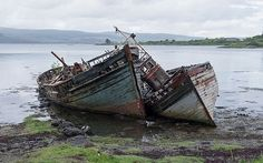 Salen - rotting hulks.jpg  #BoatingPictures