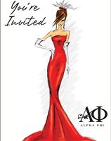 d6408bc5638 38 Best Alpha Phi Red Dress Gala images