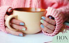 Jak pokolorować smutną zimę ☔ ? Wypróbuj intrygujące połączenie kolorów! Smerfowy i miętowy, na chłodne dni w sam raz!