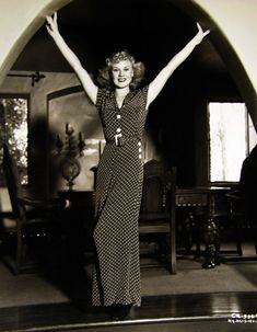 I've somehow become fond of 1930s polka dot elephant pant jumpsuits.