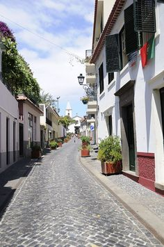 Madeira ~ Portugal  Beautiful street photo op!