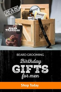 The beard doesn't make the man, but it is a literal extension of the man. Give some polish and poise to the furriest of face friends with the Beard Wrangler Mini Crate. #GiftsForHisFace