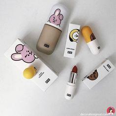 ― 𝘵𝘢𝘦𝘯𝘰𝘴𝘩 🌫 - Types Of Makeup Brushes - Maquillaje Bts Makeup, Skin Makeup, Makeup Brushes, Beauty Makeup, Makeup Style, Makeup Geek, Bts Doll, Kawaii Makeup, Korean Make Up
