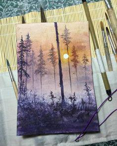 "7,920 Likes, 29 Comments - Watercolor illustrations  (@watercolor.illustrations) on Instagram: "" Watercolorist: @rita_liga #waterblog #акварель #aquarelle #painting #drawing #art #artist…"""