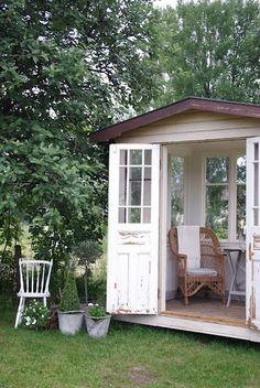 little outdoor room :)