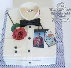 Gutt konfirmasjonskake Frame, Instagram, Cakes, Decor, Decorating, Cake, Pastries, Inredning, Frames