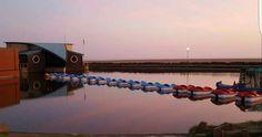 Boating pond at sunrise St Anne, Boating, Pond, Sunrise, Saints, Water Pond, Ships, Sailing, Sunrises