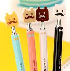 Bolígrafo This mustache is vintage por LasCositasDPenknives en Etsy, €2.00
