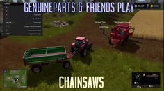 Farming Simulator 17 | Chainsaws  http://youtu.be/hWDFZerPe4M Rich aka. TheEnglishG Jesse from PlayerTwo Scott and me do a Farm. That will go over well... right? Twitter: http://twitter.com/genuineparts_ Get the Game: http://ift.tt/29Gj02W Cool People: TheRealEnglishGamer - https://www.youtube.com/c/theenglishgamerFAM ScottDogGaming - https://www.youtube.com/user/ScottDogGaming PlayerTwo - https://www.youtube.com/channel/UCI4sxPLPp9hMgA04A0pdGSw Take on the role of a modern farmer in Farming…