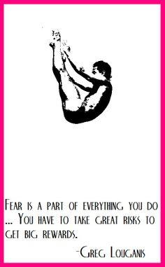Diver Greg Louganis on risk vs reward... let's go USA!