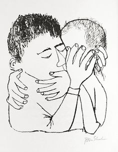 For The Sake Of A Single Verse: XVII Memories Of Many Nights Of Love - Ben Shahn (1968)
